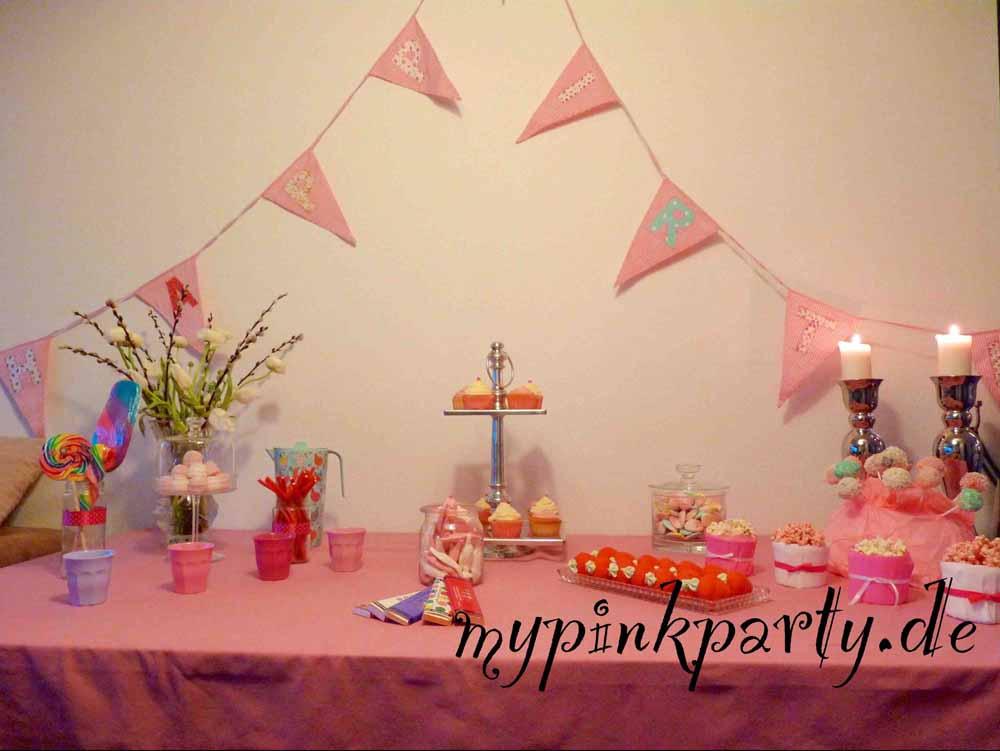 Kindergeburtstagsparty pink