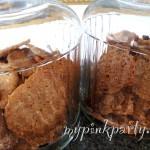 Selbstgemachte Kekse nach amerikanische Art