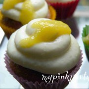 Kardamom Honig Cupcakes