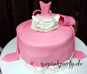 Ballerina Ombre Torte in Rosa