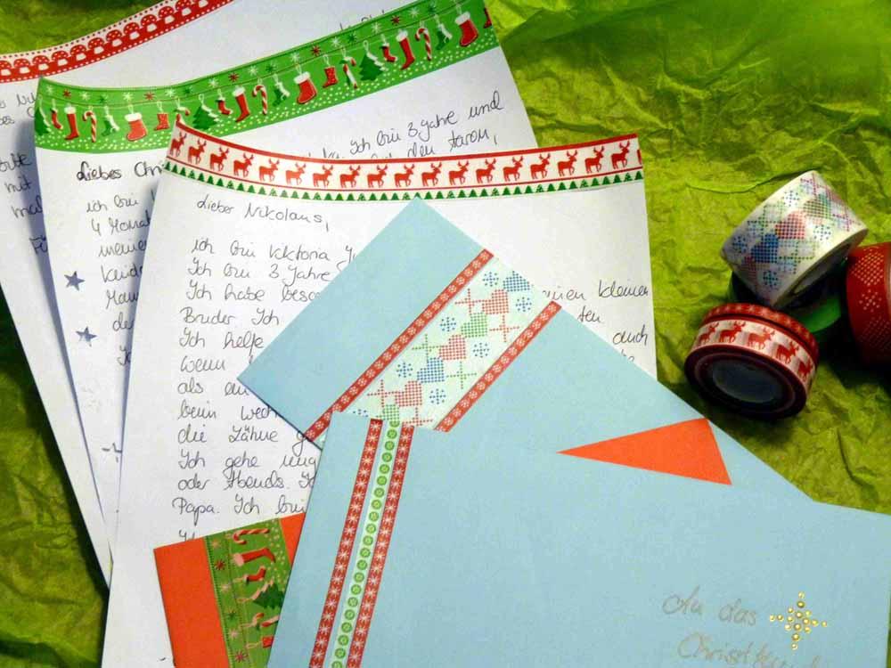 Brief an Weihnachtsmann