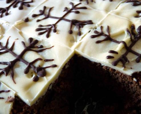 Brownies mit Chai-Gewürz