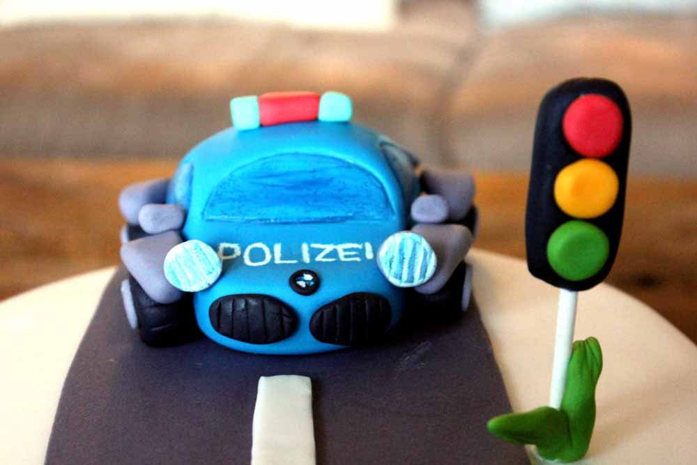 Polizei Torte