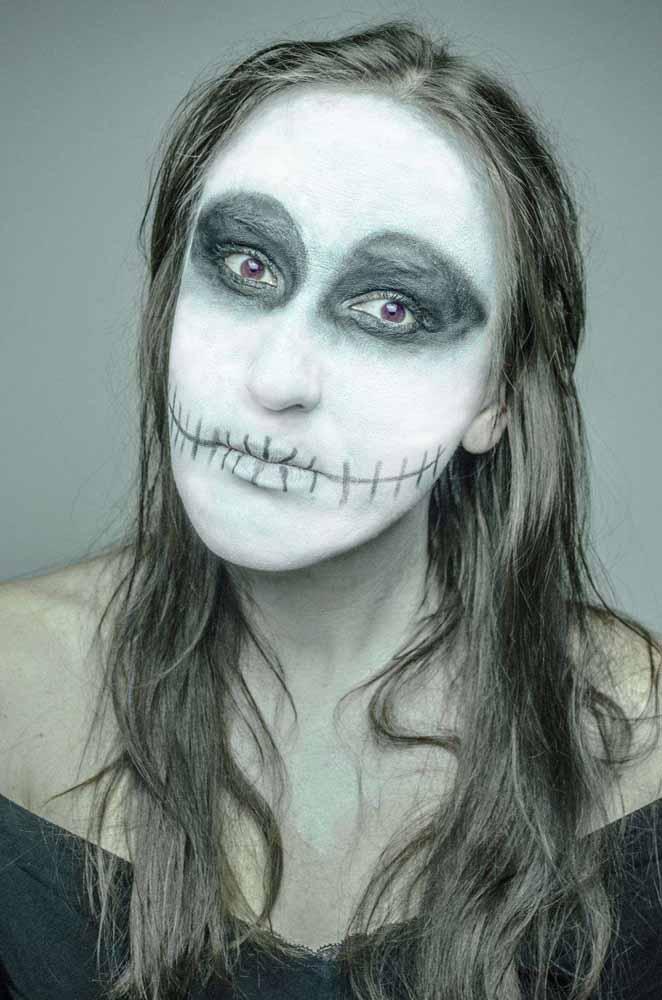 Schminken zu Halloween