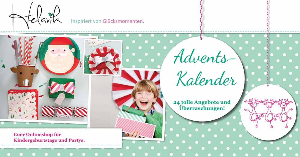 Ein virtueller Adventskalender - Helavik Shop