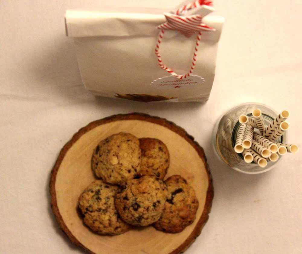 Schokoladen Cookies für die Adventszeit