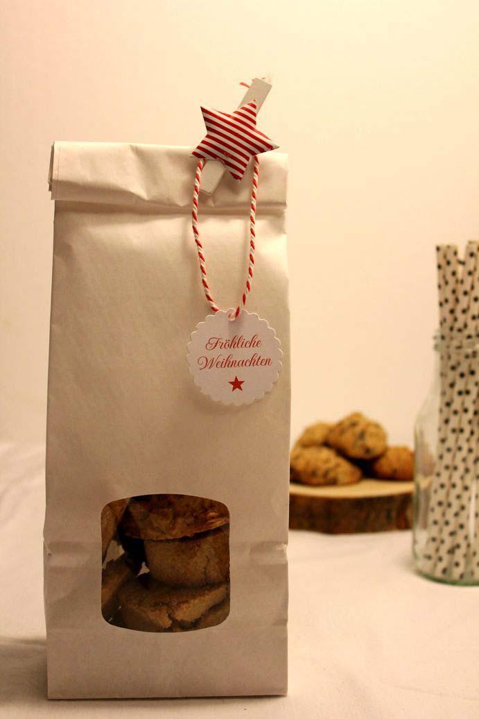 Sckoladen Cookies für die Adventszeit