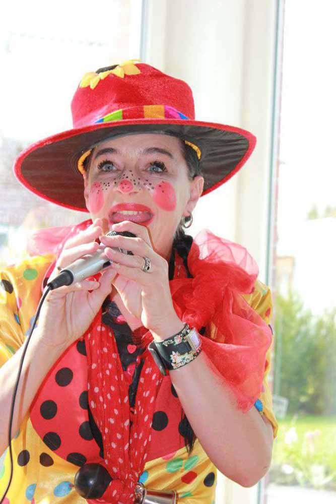 Clown für eure Party