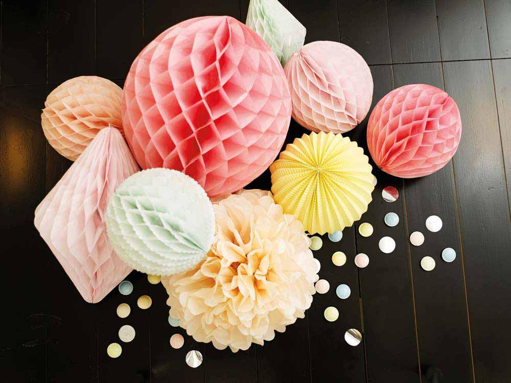 Party deko zur silvester i zauberhafte dekorationen for Pinke party deko