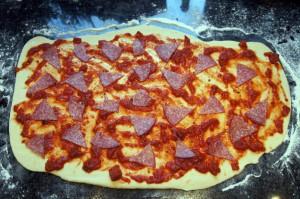 Twister Pizza Brotsticks