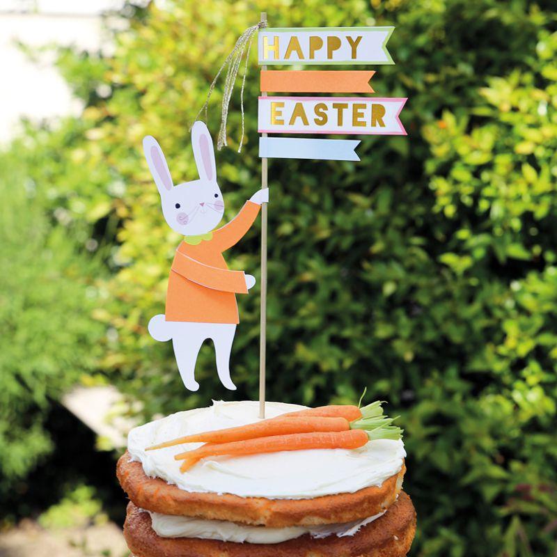 Cake Topper für eine Torte zum Osterfest