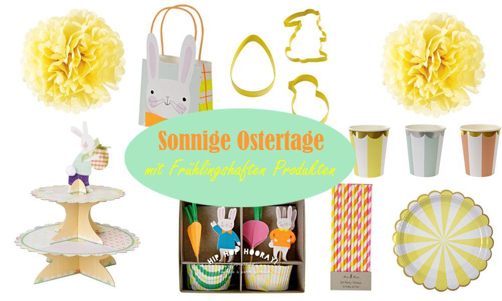 Produkte und Dekorationen zu Ostern