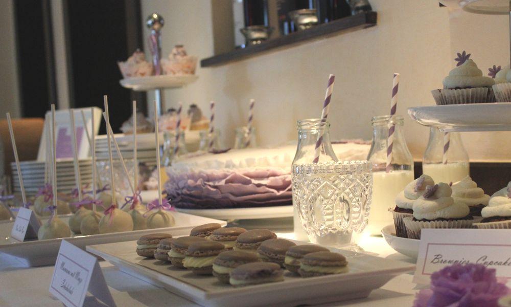Ein Sweet table für eine Hochzeit, Taufe & andere Anlässe
