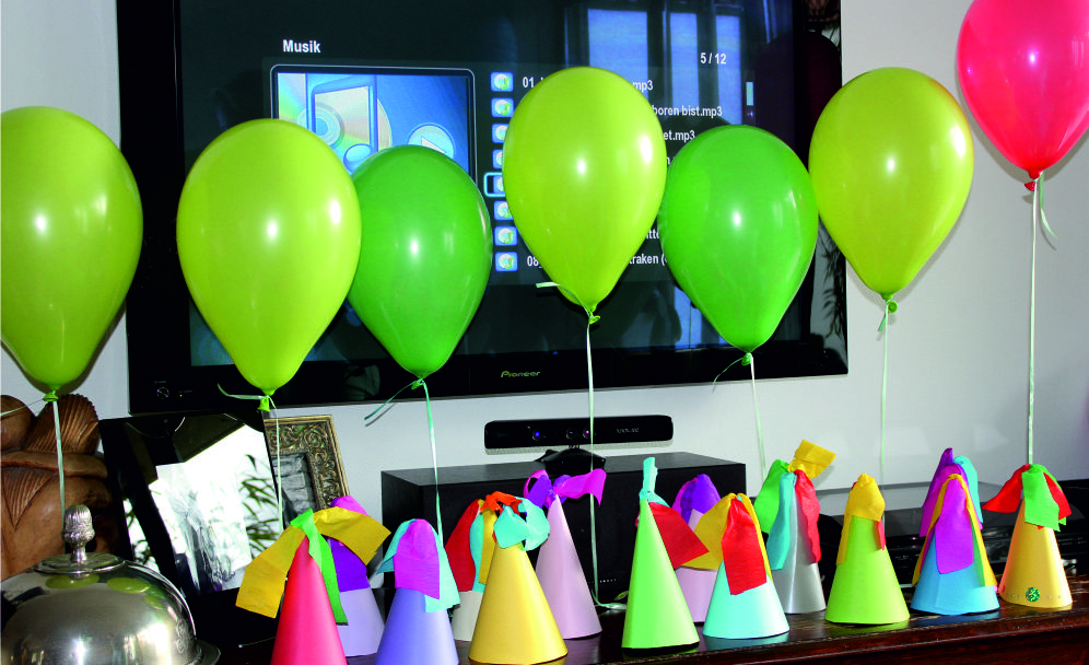 Dekoration Luftballons