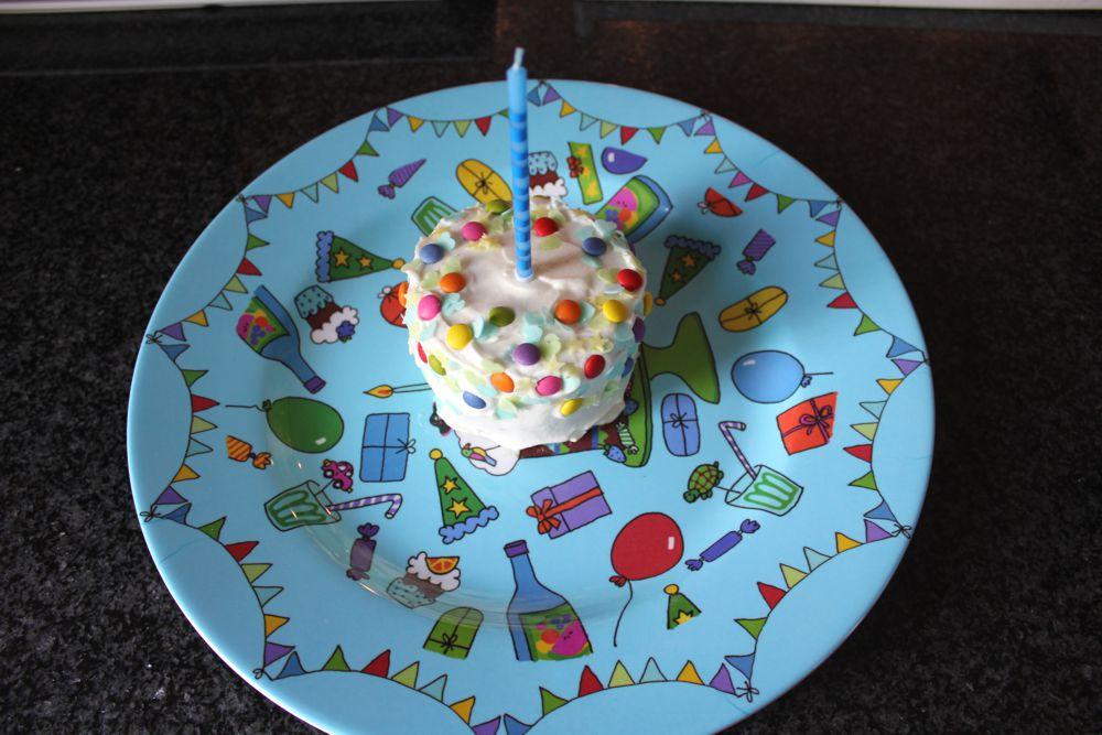 Die erste Geburtstagsfeier