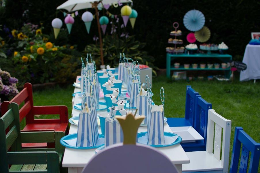 Elsa Dekoration für den Tisch
