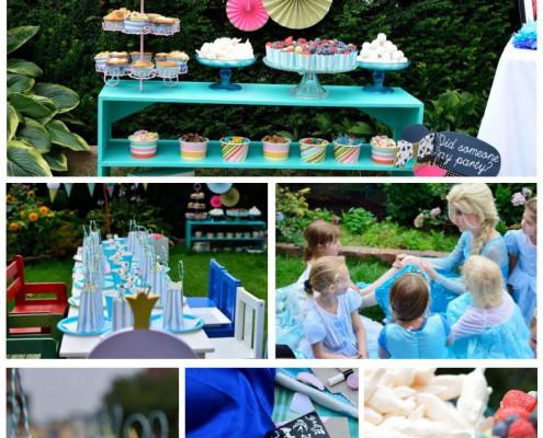 Elsa Kindergeburtstag mit Olaf & Co.