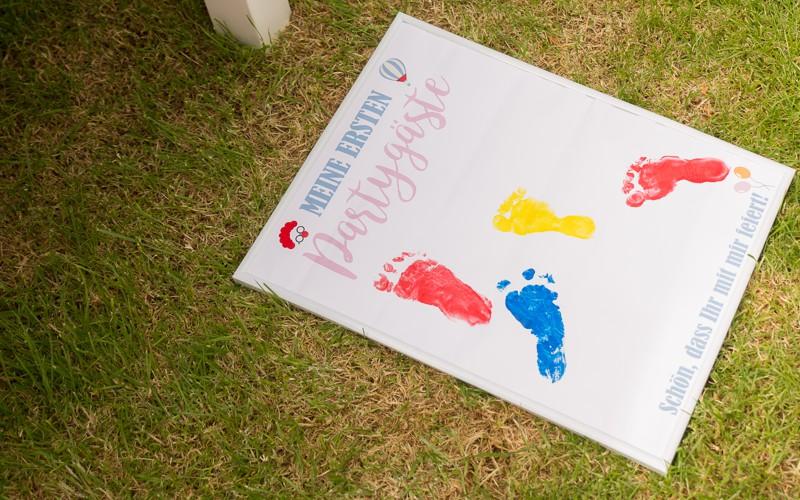 Fertiges Footprint - wundervolle Erinnerung