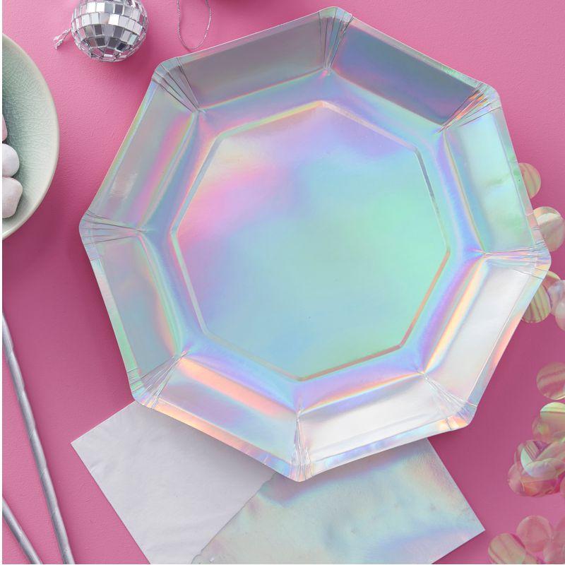 Bild Teller in holografischen Design