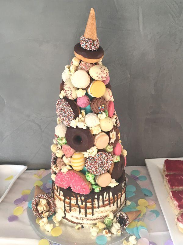 Pyramiden Cake im Style Einhorn