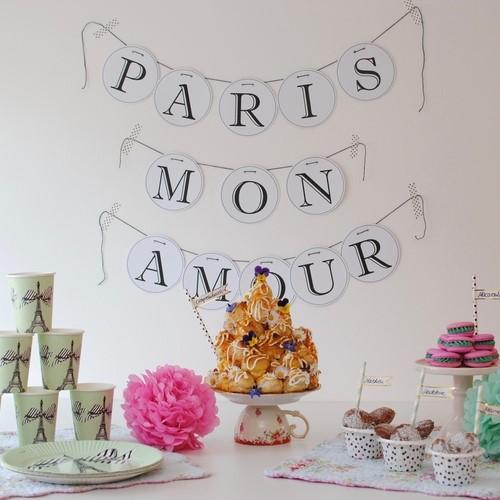Bild Paris Party Sommer Geburtstag