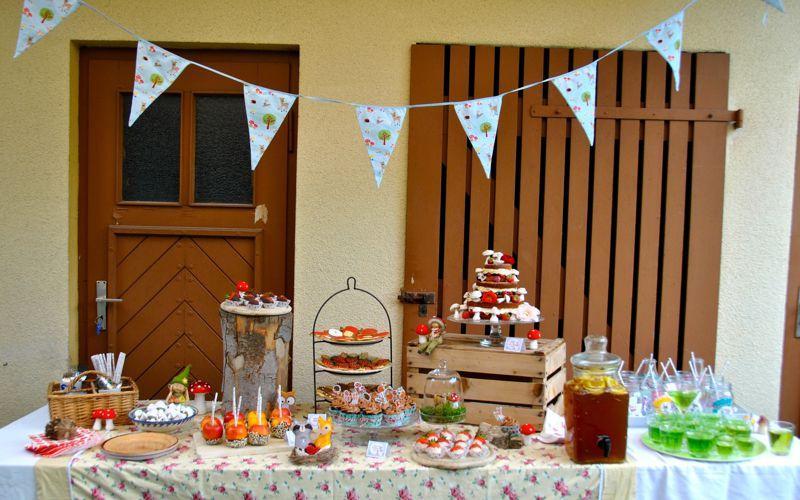 Bild Wald-Party Candybar