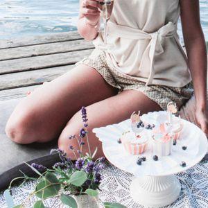 Sommerpicknick mit Meerjungfrau Deko